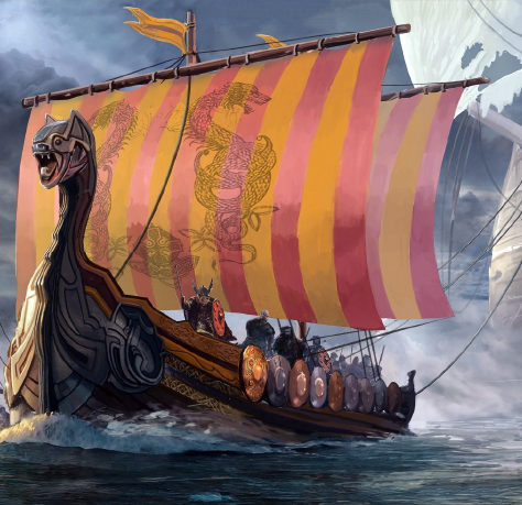 Vikingos y cannabis