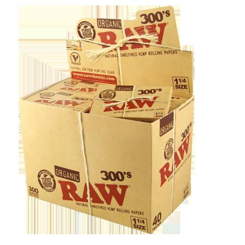 Comprar Papel RAW Organico 300 papelillos