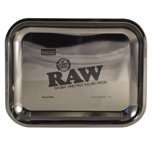 gold tray raw