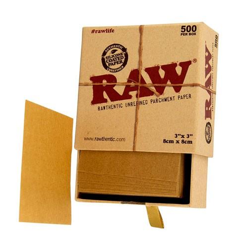 caja pergamino raw