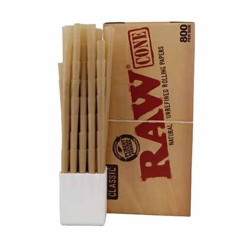 caja raw cono 800