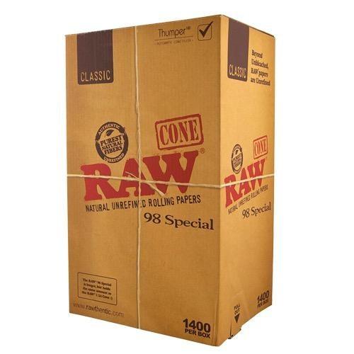 caja conos 98 special raw