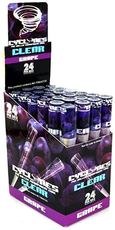 Cyclones Clear - Grape