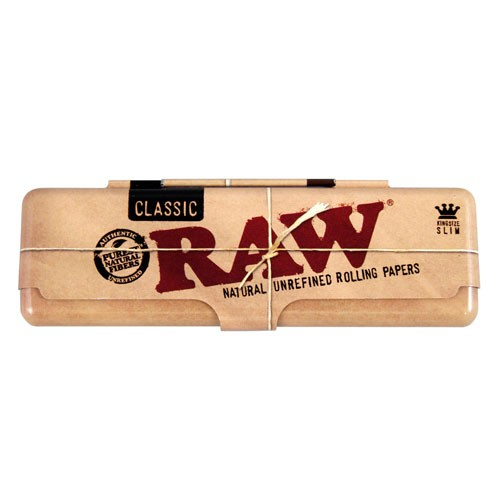 funda metalica papel raw king size
