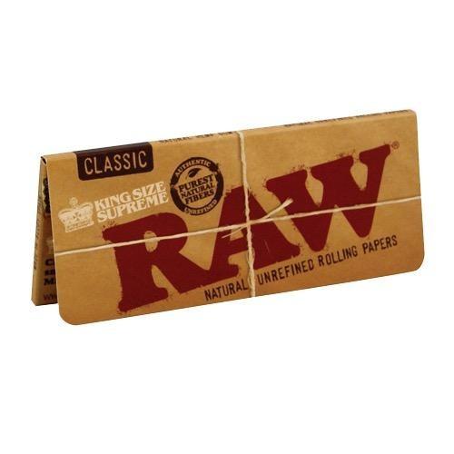 papel de fumar grande raw