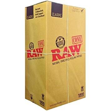 caja conos raw 1400 king size