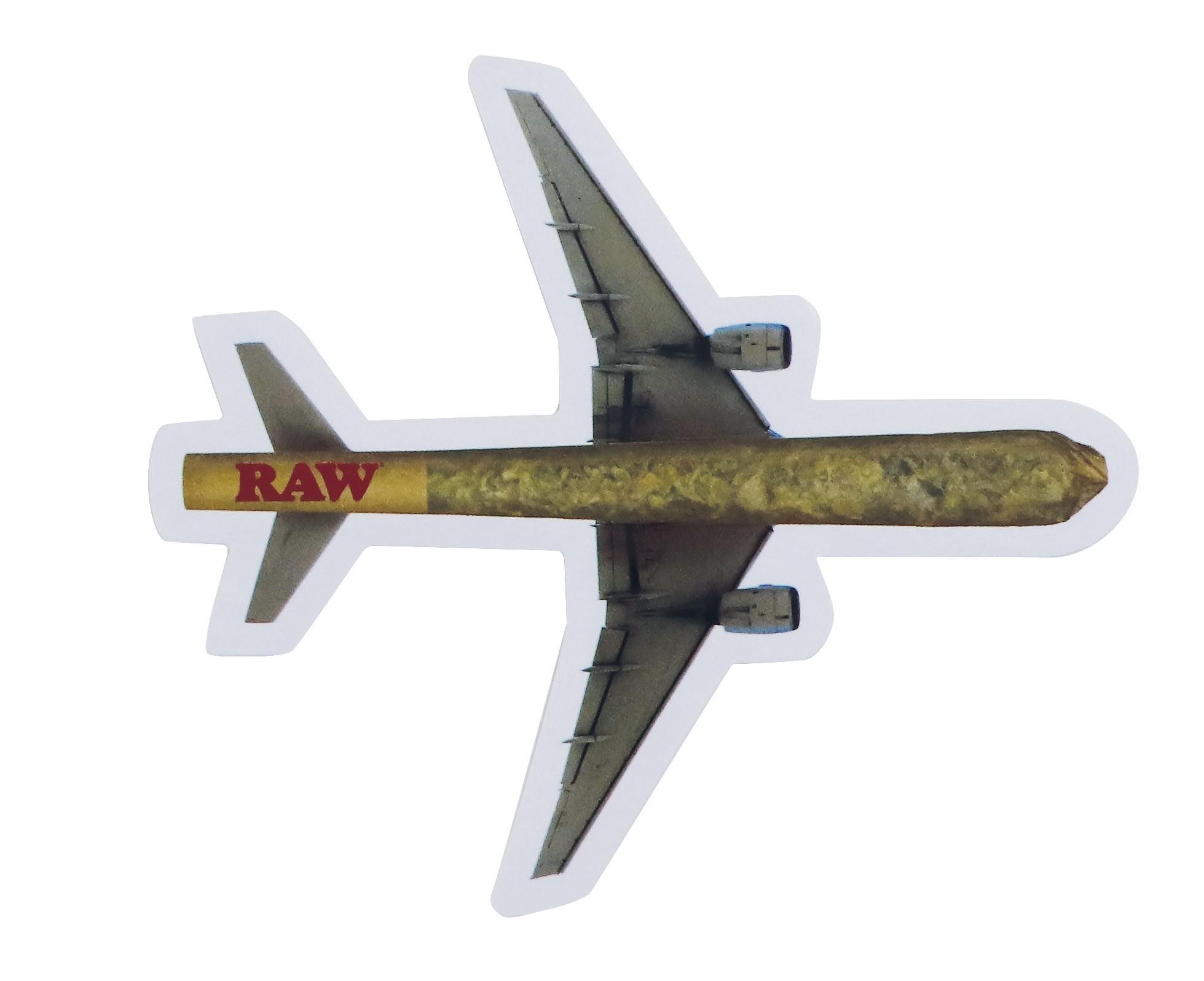 Pegatina Raw Aeroplane