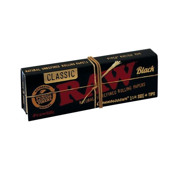 comprar papel de fumar raw black