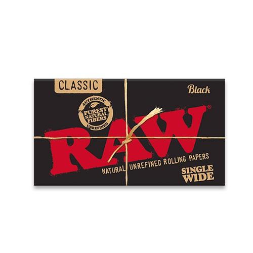Raw Black Sinlge Wide