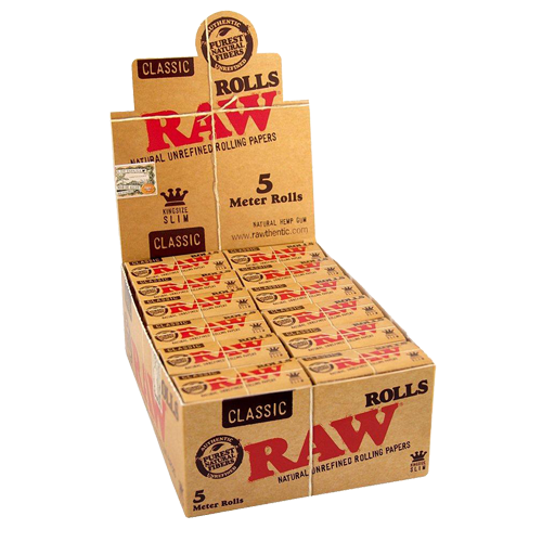 comprar caja papel raw rollos
