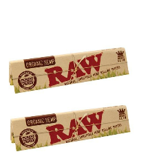 2 Raw King Size Organic Booklet