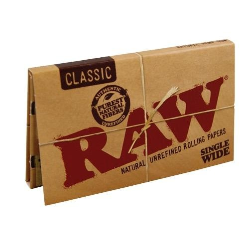 comprar Papel liar raw single wide