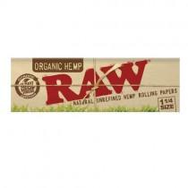 papel de fumar raw 1 ¼ Organico