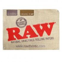 comprar cartel de tela raw