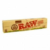 raw 1/4 organico conos