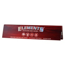 Librillo Elements Red King Size Slim