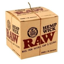 hemp wick raw