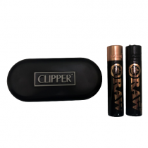 Raw Clipper Matt Black + Estuche