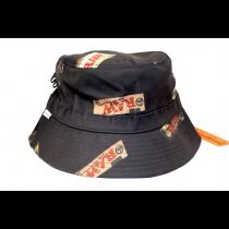 Raw Bucket Hat Black