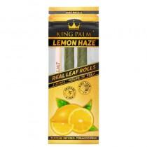 King Palm Lemon Haze - 2 Mini Rolls