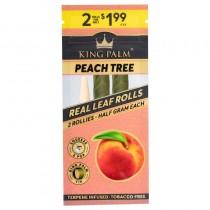 King Palm Peach Tree - 2 Rollies (0,5gr)