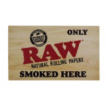 Pegatinas Raw Only Smoked Here