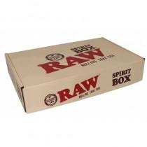 Raw Wooden Spirit Box