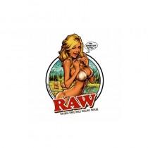 Pegatinas Raw Girl