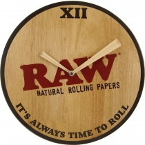 reloj pared raw, clock raw