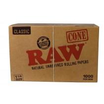 Raw Caja Conos Pre-liados 1 1/4 Size (1.000 Conos)