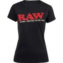 Camiseta Raw mujer