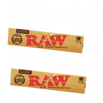 2 Librillo Raw King Size Classic