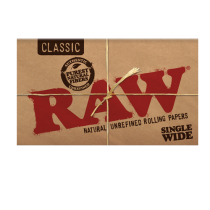 caja papel raw single wide