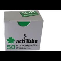Filtros ActiTube Slim (50 Unds)