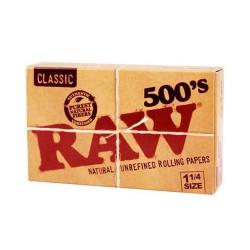 librillo papel raw 500
