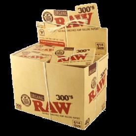 Caja Raw 1 ¼ 300's Orgánico