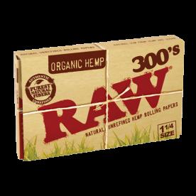 Librillo Raw 1 ¼ 300's Orgánico