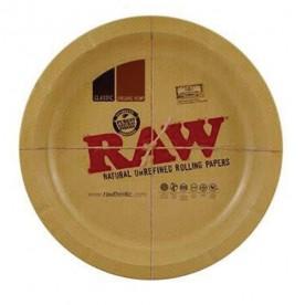Bandeja metal redonda Raw