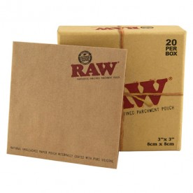 Raw Papel Pergamino Caja (20 units)
