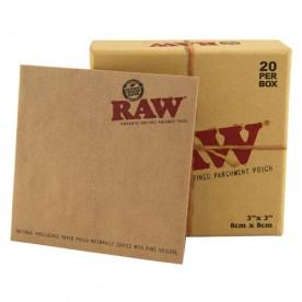 Caja Sobres Pergamino Raw (20 uds)