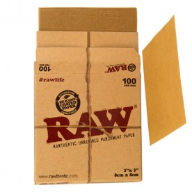 Raw Papel Pergamino cajita (100 units)