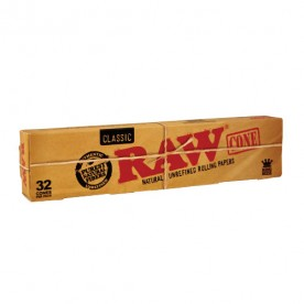 Raw King Size Classic Cone Box (32 pcs)