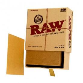 Caja Papel Pergamino Raw. (500 uds)