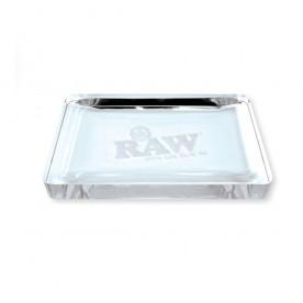 Raw bandeja cristal cenicero