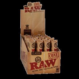 Raw King Size Classic Cono Caja (96 pcs)