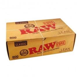 Caja Conos Raw Lean Classic (800 uds)