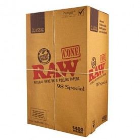 Cone Box Raw 98 Special Classic (1400 pcs)