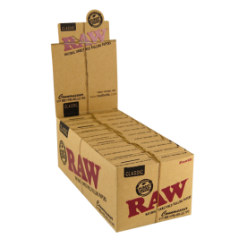Caja Raw Connoisseur 1 ¼ Prerolled Classic
