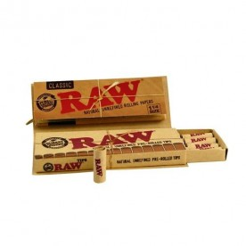 Raw 1 ¼ Connoisseur Pre-rolled Classic
