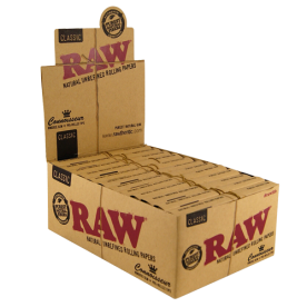 Caja Raw Connoisseur King Size Prerolled Classic